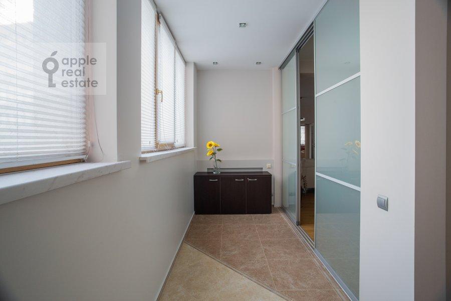 Balcony / Terrace / Loggia of the 4-room apartment at 2-y Shiemilovskiy pereulok 4