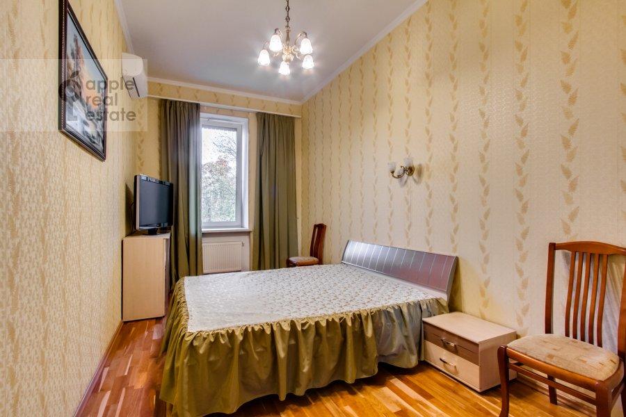 Спальня в 3-комнатной квартире по адресу 4-й Крутицкий пер. 14