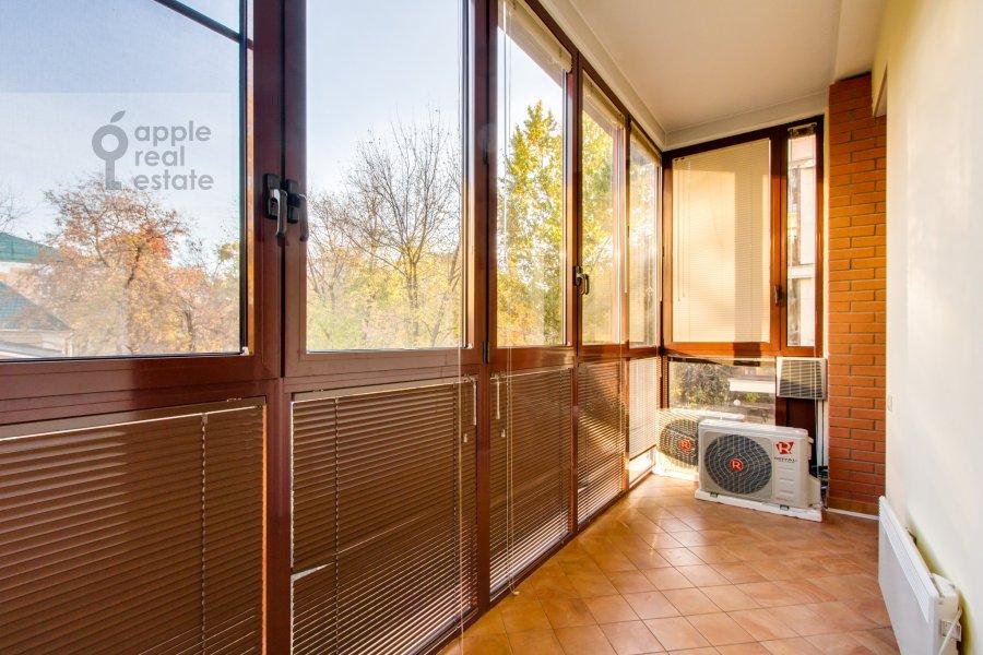 Балкон / Терраса / Лоджия в 3-комнатной квартире по адресу 4-й Крутицкий пер. 14