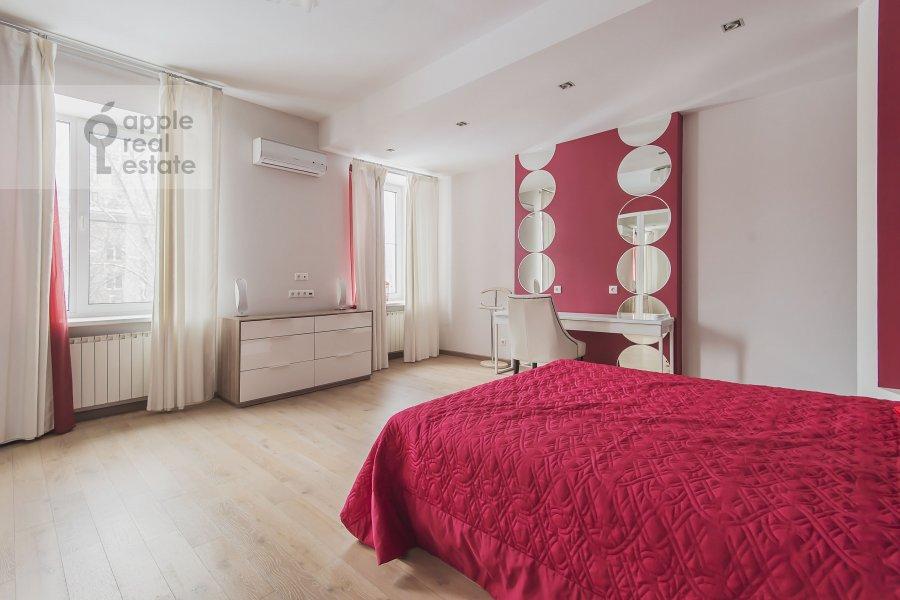 Спальня в 3-комнатной квартире по адресу Кутузовский проспект 23