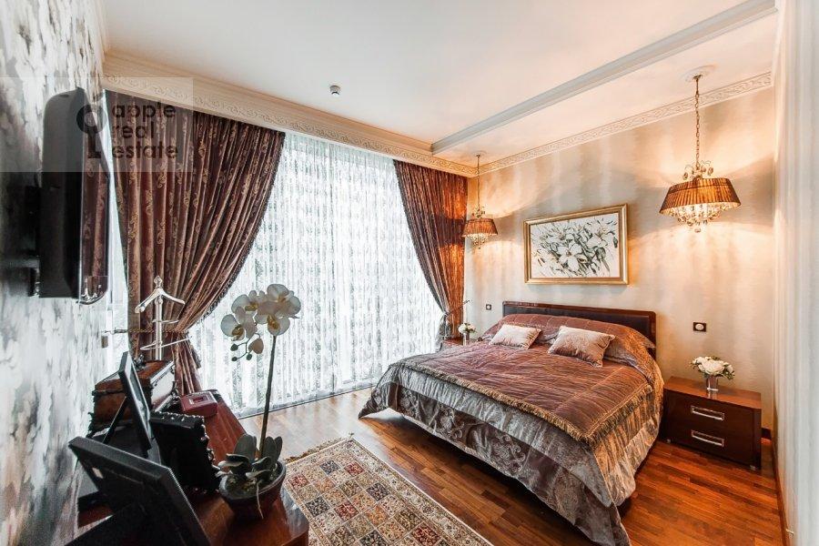 Bedroom of the 4-room apartment at Tsvetnoy bul'v. 2k1