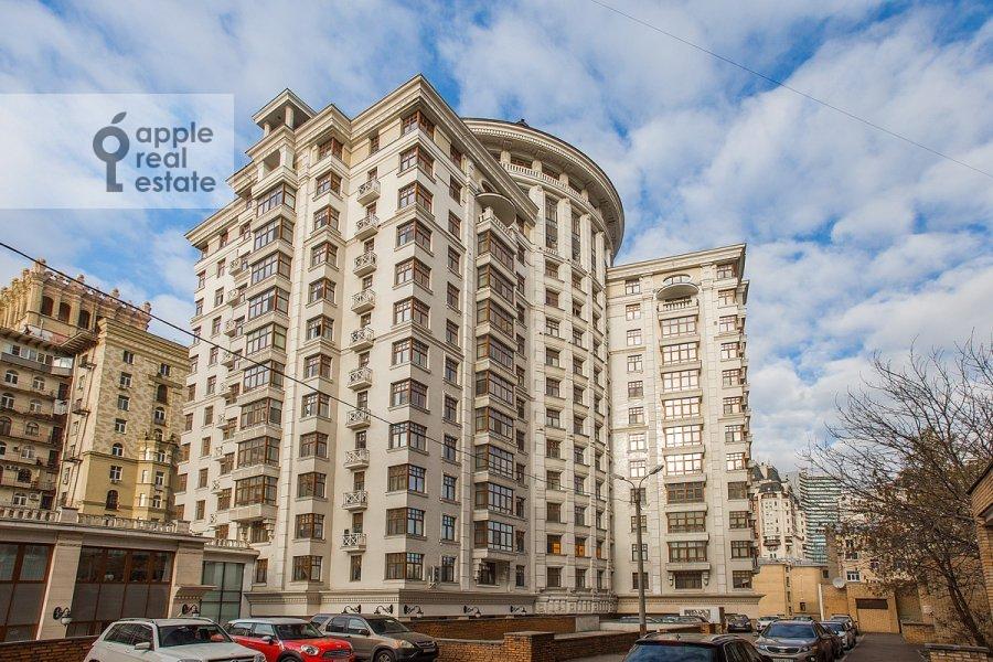 Photo of the house of the 2-room apartment at Malyy Novopeskovskiy pereulok 8