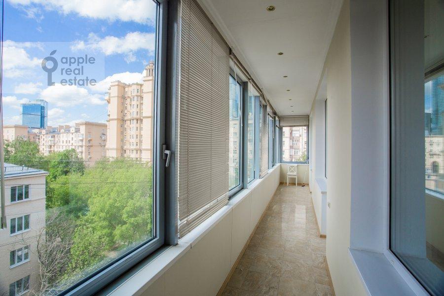 Balcony / Terrace / Loggia of the 3-room apartment at ul. Studencheskaya 20k1