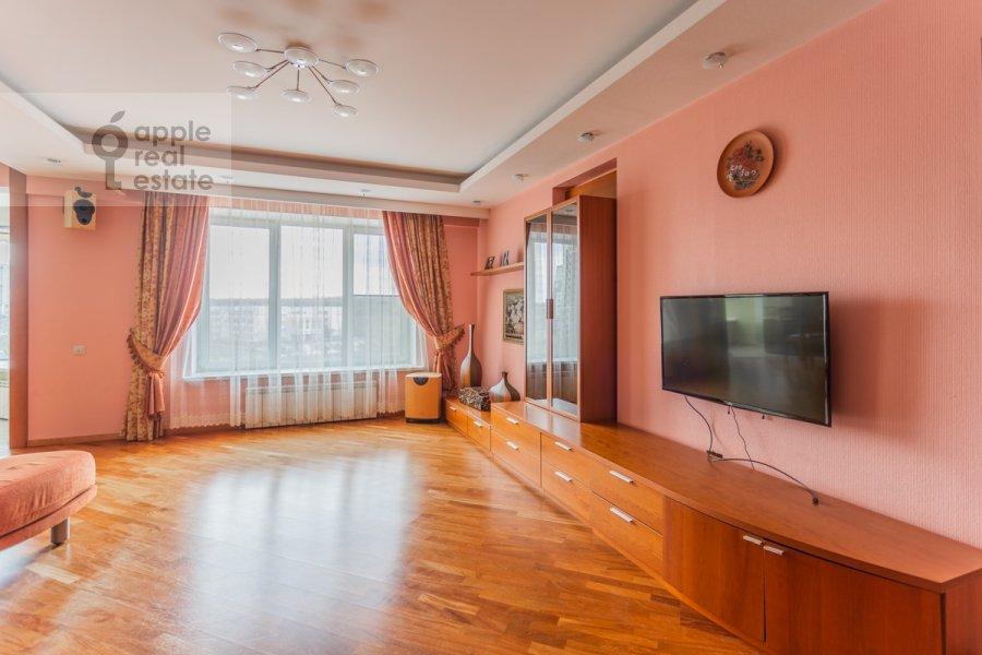 Гостиная в 4-комнатной квартире по адресу Вернадского пр-т. 92