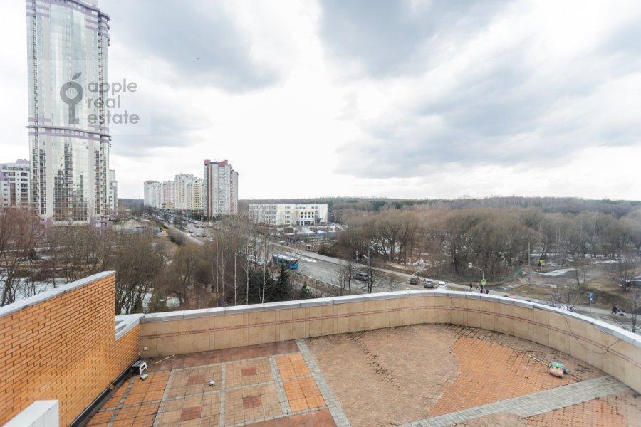 Вид из окна в 4-комнатной квартире по адресу Вернадского пр-т. 92