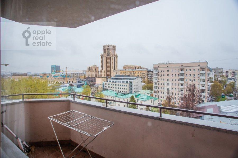 Balcony / Terrace / Loggia of the 6-room apartment at Tatarskaya ul. 18
