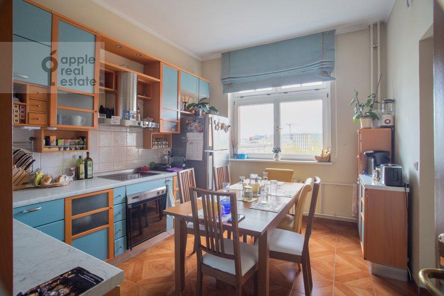 Kitchen of the 6-room apartment at Tatarskaya ul. 18