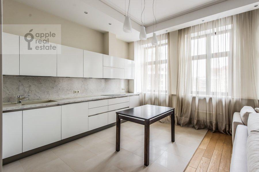 Kitchen of the 2-room apartment at Polyanka Malaya ul. 2