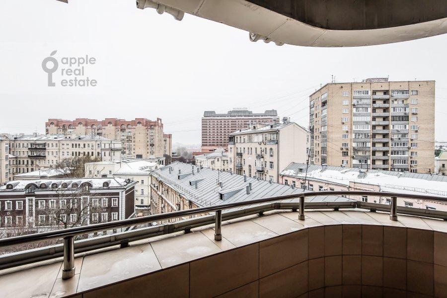 Balcony / Terrace / Loggia of the 2-room apartment at Polyanka Malaya ul. 2