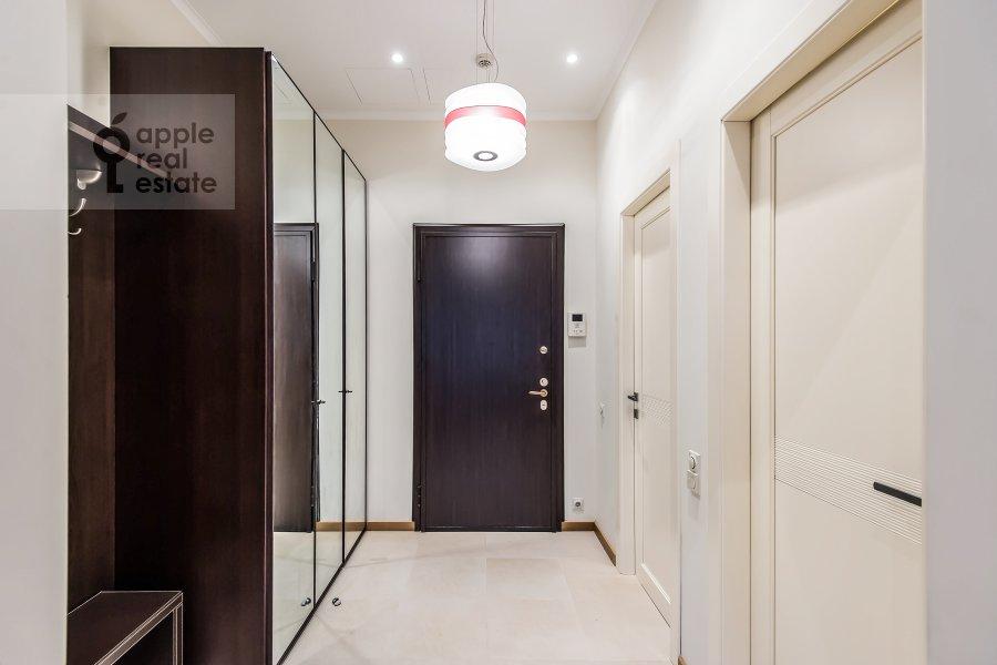 Corridor of the 2-room apartment at Polyanka Malaya ul. 2