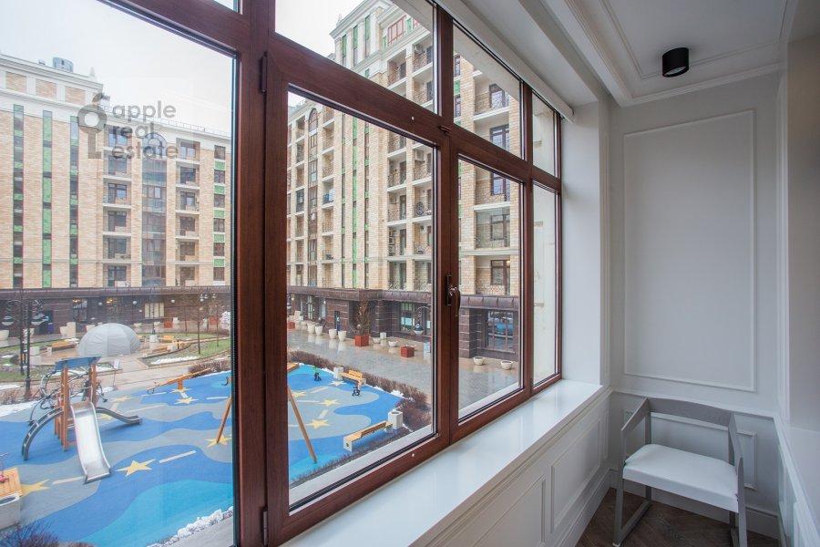 Balcony / Terrace / Loggia of the 2-room apartment at Pogodinskaya ul. 4