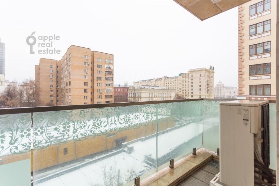 Балкон / Терраса / Лоджия в 4-комнатной квартире по адресу Смоленский 1-й пер. 21