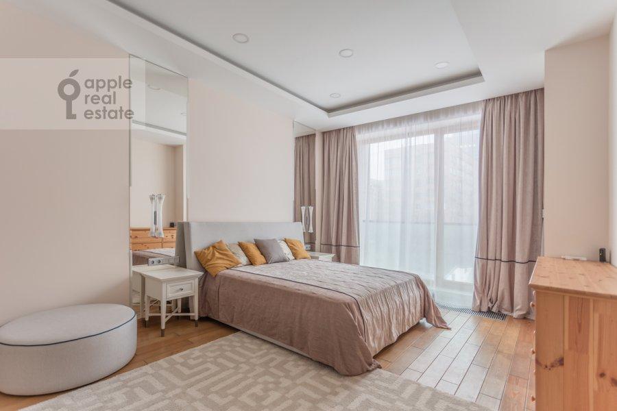 Спальня в 4-комнатной квартире по адресу Смоленский 1-й пер. 21