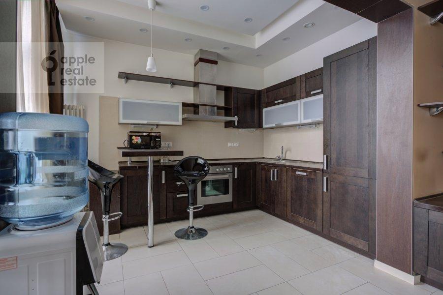 Kitchen of the 4-room apartment at Troitskaya ul. 5