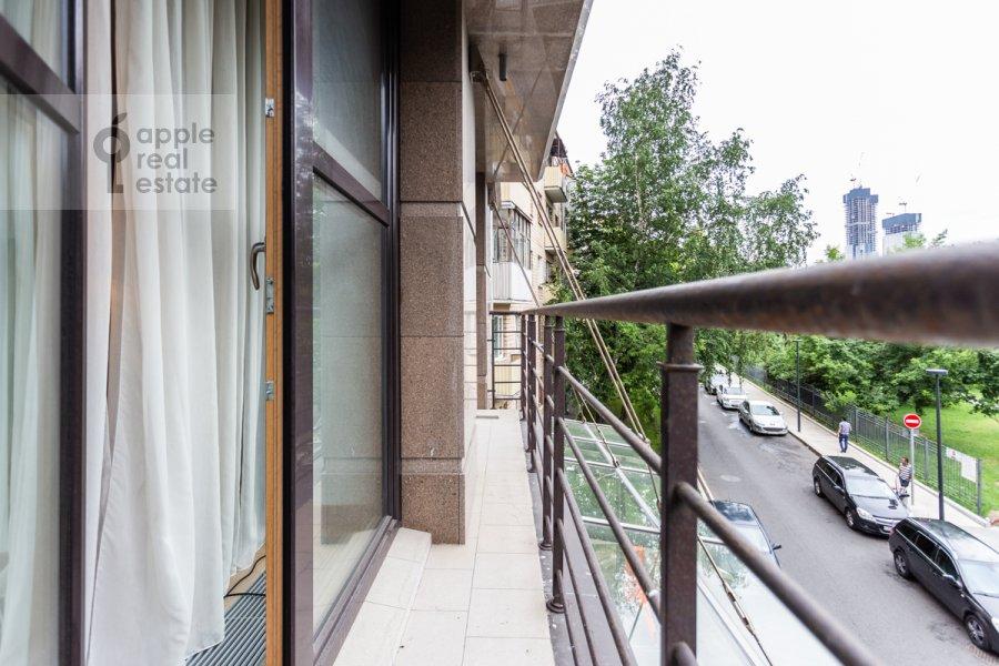 Balcony / Terrace / Loggia of the 3-room apartment at Dokhturovskiy pereulok 6