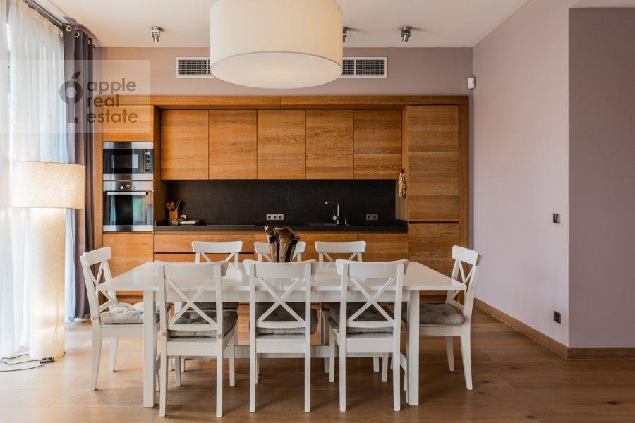 Kitchen of the 3-room apartment at Dokhturovskiy pereulok 6