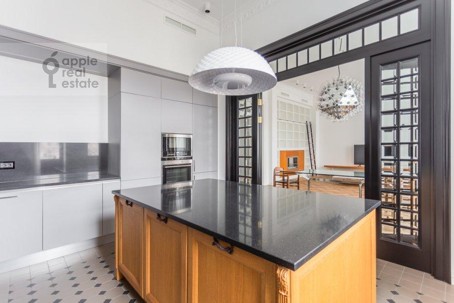 Кухня в 3-комнатной квартире по адресу Гоголевский бульвар 29
