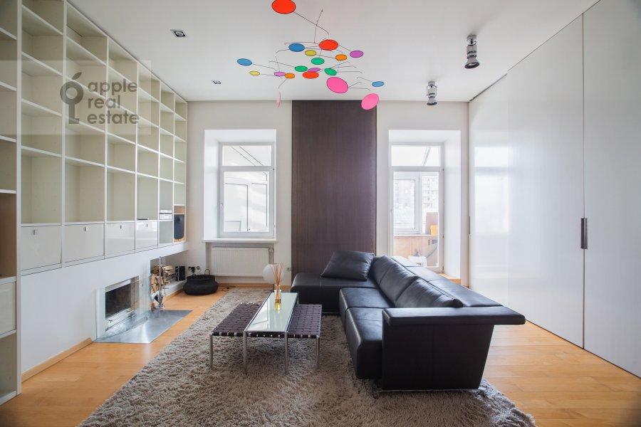 Living room of the 5-room apartment at Dolgorukovskaya ul. 38s1