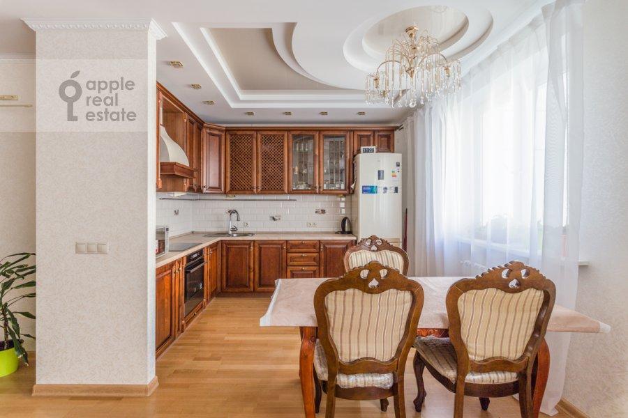 Kitchen of the 3-room apartment at 1-y Nagatinskiy proezd 11k1