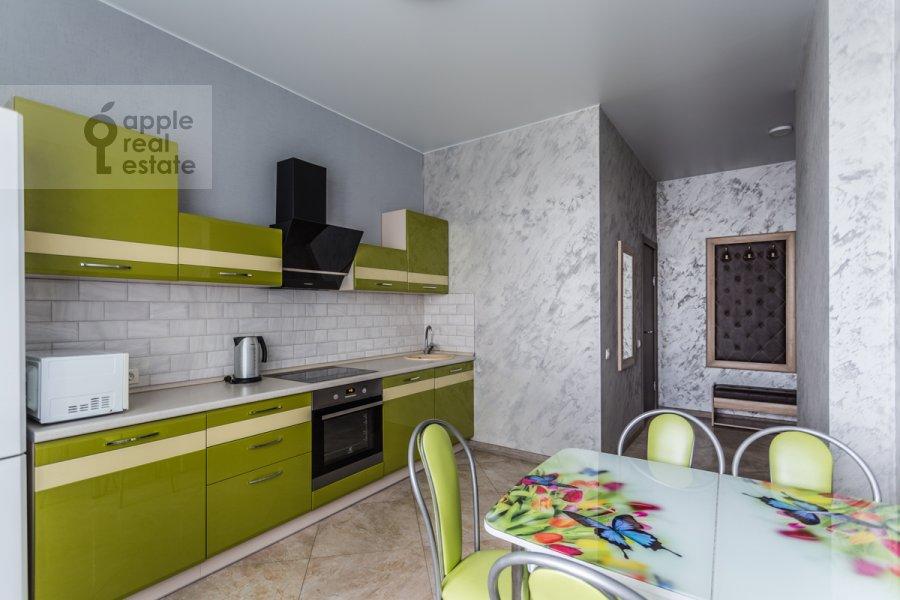 Kitchen of the 2-room apartment at Belomorskaya ul. 11k1