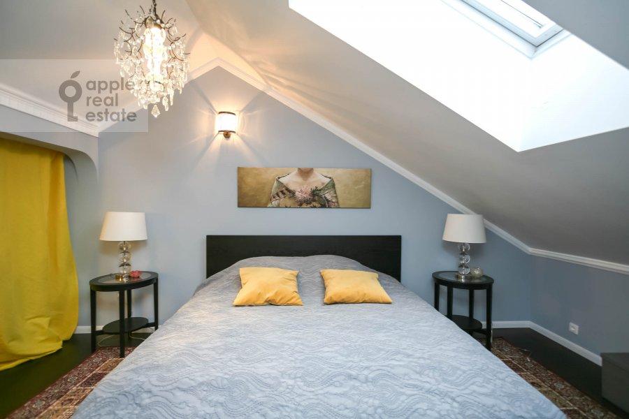 Bedroom of the 4-room apartment at Nashiokinskiy per. 5s5