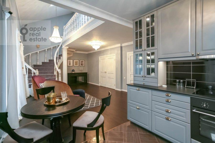 Kitchen of the 4-room apartment at Nashiokinskiy per. 5s5