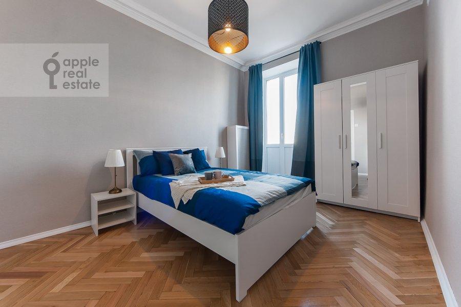 Спальня в 2-комнатной квартире по адресу Тверская ул. 6с1