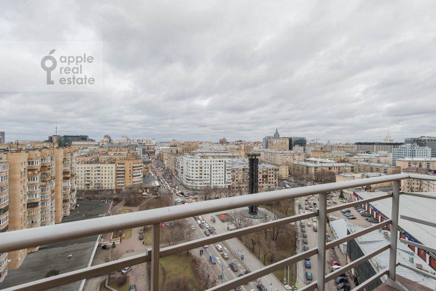 Балкон / Терраса / Лоджия в 2-комнатной квартире по адресу Грузинская Большая ул. 37с2