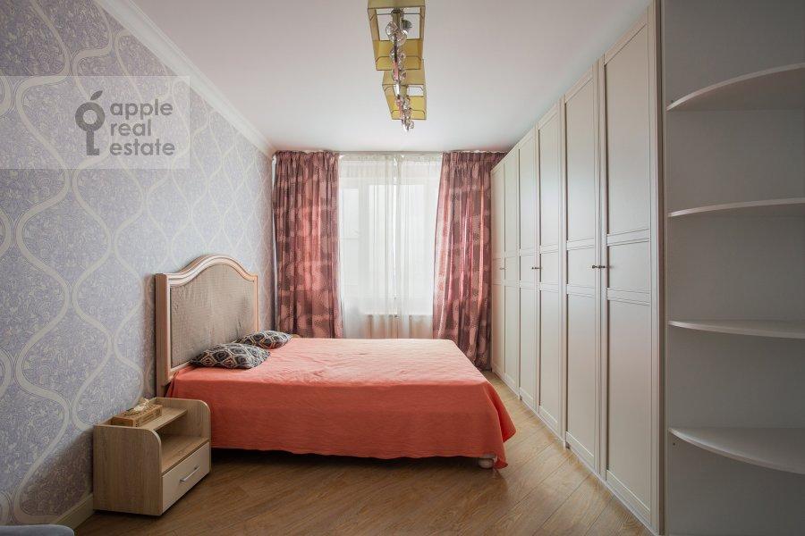 Спальня в 4-комнатной квартире по адресу Рублевское шоссе 18к3