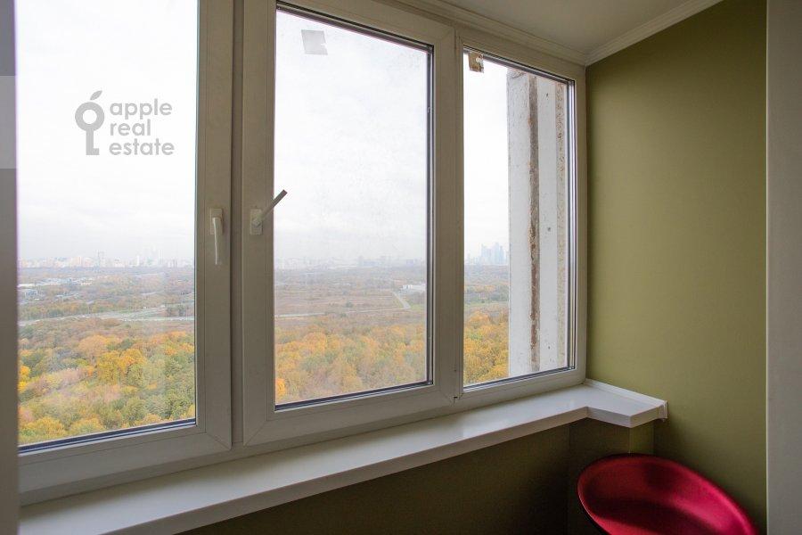 Балкон / Терраса / Лоджия в 4-комнатной квартире по адресу Рублевское шоссе 18к3