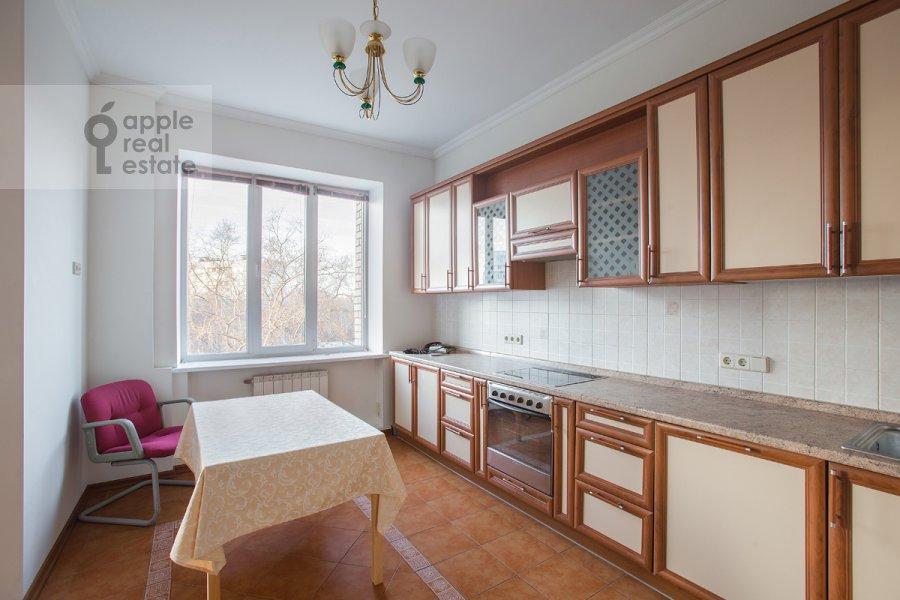 Kitchen of the 4-room apartment at Bol'shoy Koptevskiy proezd 10k2