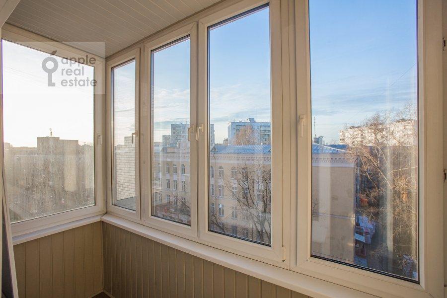 Balcony / Terrace / Loggia of the 4-room apartment at Bol'shoy Koptevskiy proezd 10k2