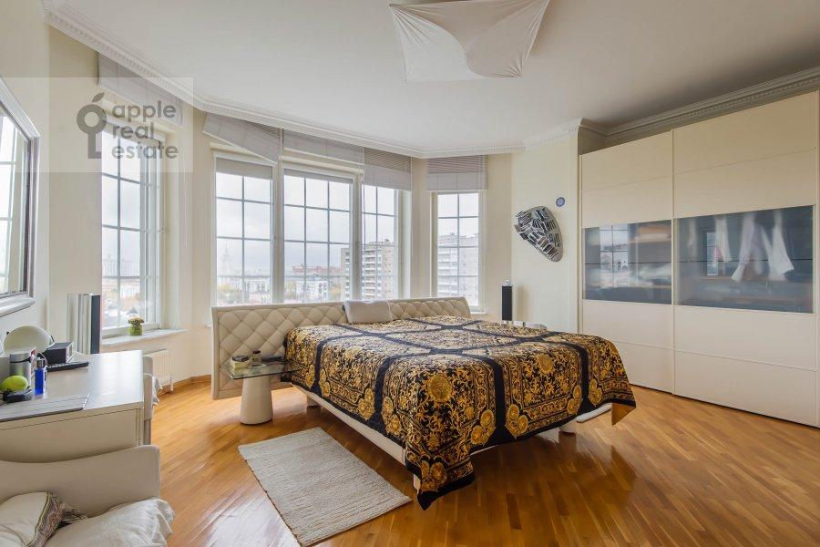 Спальня в 3-комнатной квартире по адресу Большая Грузинская ул. 19
