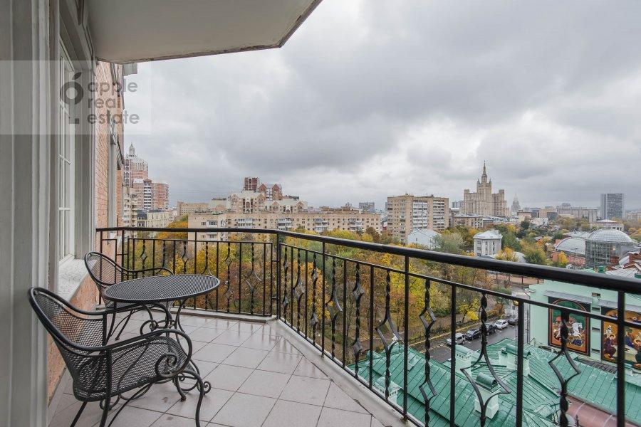 Балкон / Терраса / Лоджия в 3-комнатной квартире по адресу Большая Грузинская ул. 19