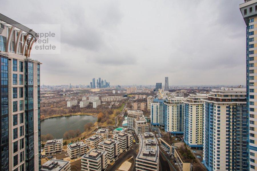 Вид из окна в 5-комнатной квартире по адресу Мосфильмовская ул. 70к1