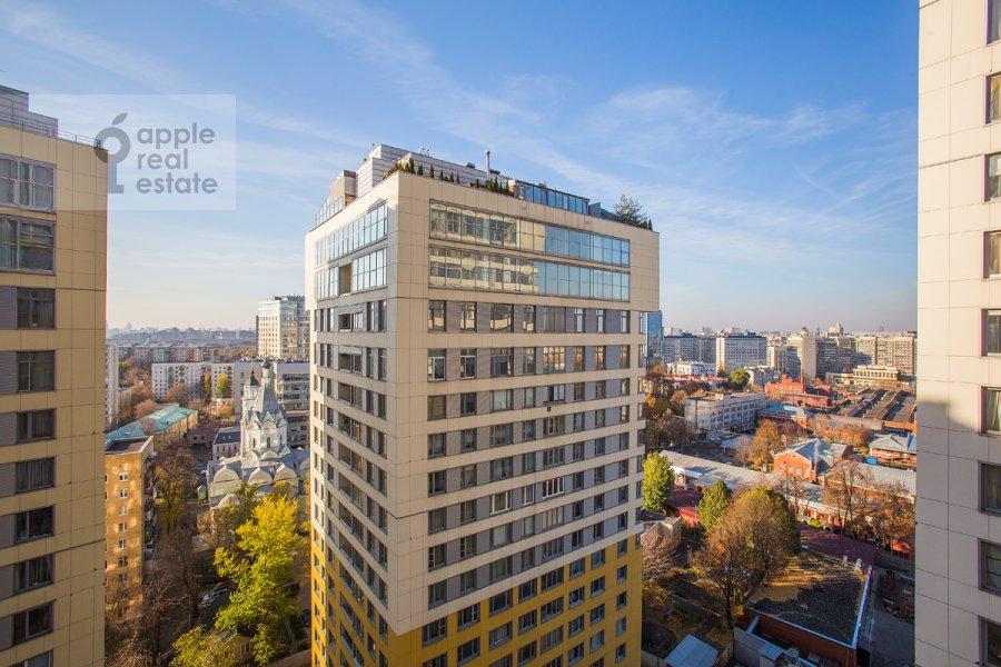 Вид из окна в 4-комнатной квартире по адресу Шаболовка ул. 23к1