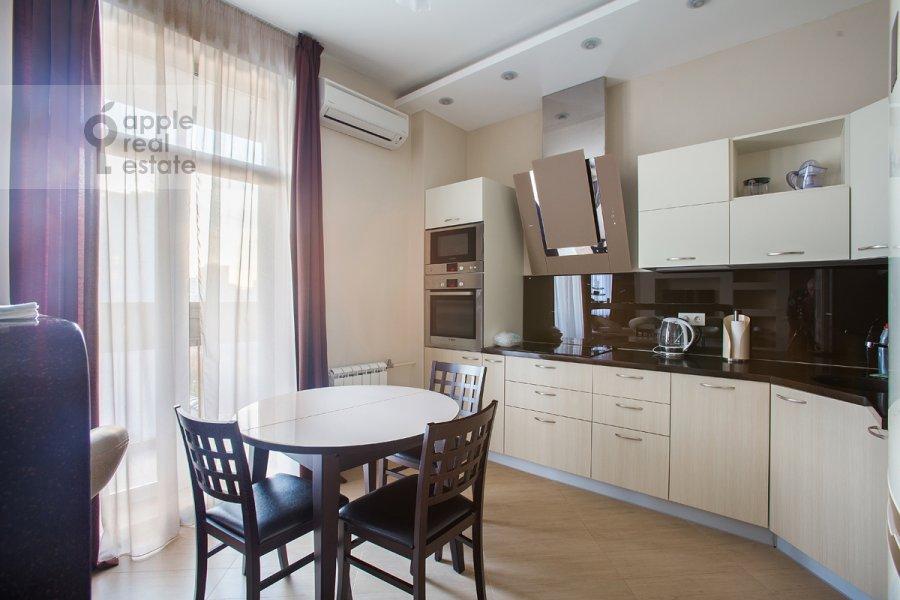 Kitchen of the 2-room apartment at Michurinskiy pr-kt 7