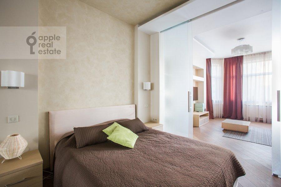 Bedroom of the 2-room apartment at Michurinskiy pr-kt 7