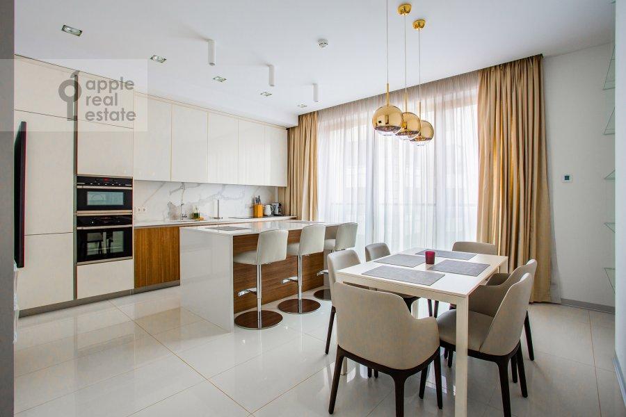 Kitchen of the 3-room apartment at 1-y Smolenskiy pereulok 21