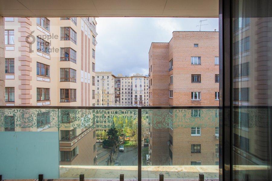 Balcony / Terrace / Loggia of the 3-room apartment at 1-y Smolenskiy pereulok 21