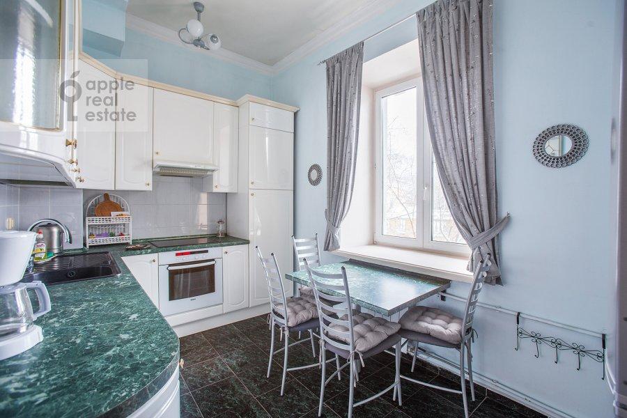 Kitchen of the 3-room apartment at Sadovaya-Kudrinskaya ul. 8/12