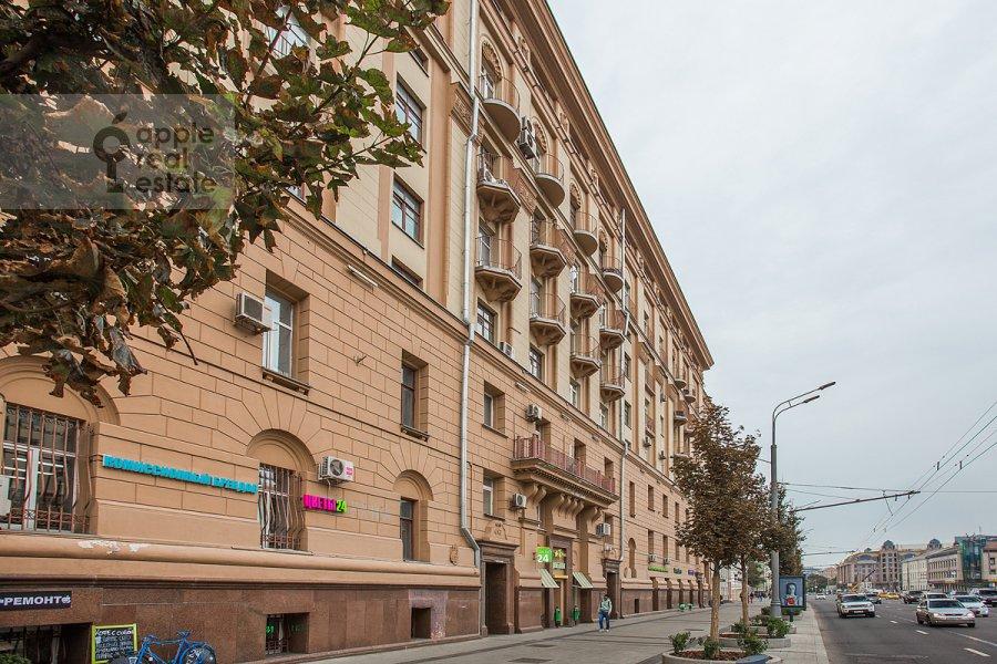 Photo of the house of the 3-room apartment at Sadovaya-Kudrinskaya ul. 8/12