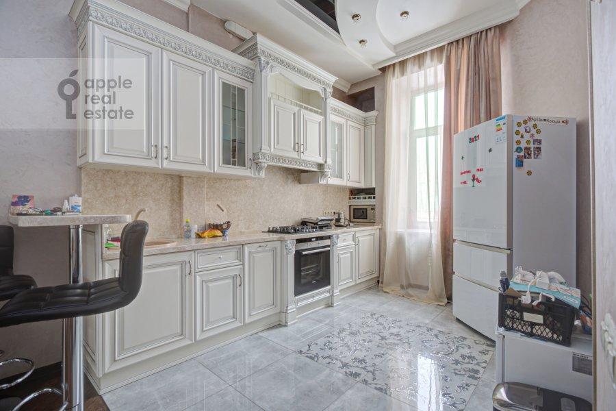 Kitchen of the 4-room apartment at Sadovaya-Chernogryazskaya ul. 3Bs1