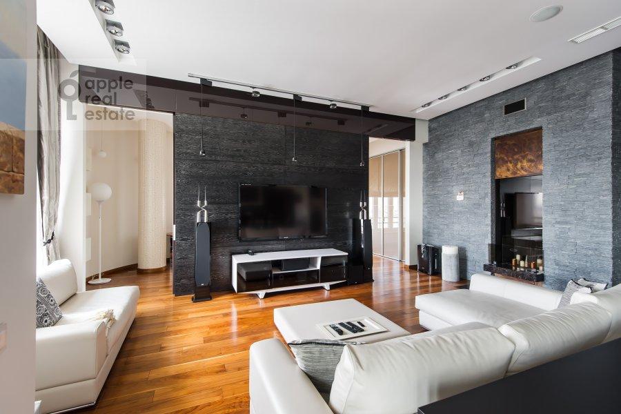 Гостиная в 4-комнатной квартире по адресу Весковский туп. 3