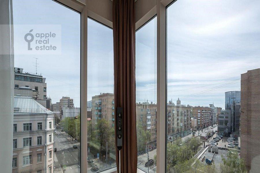Вид из окна в 3-комнатной квартире по адресу Большая Грузинская ул. 69