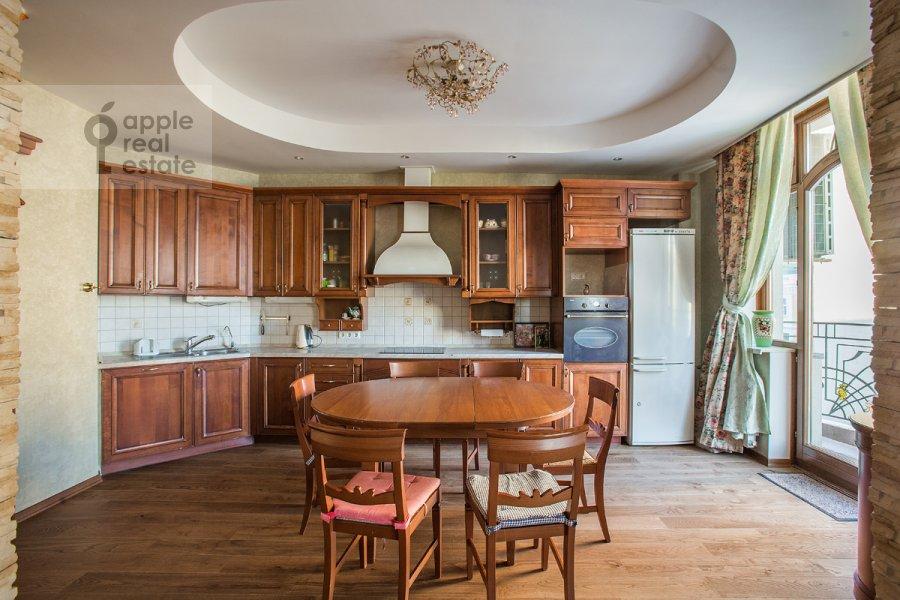 Kitchen of the 3-room apartment at Sechenovskiy per. 2
