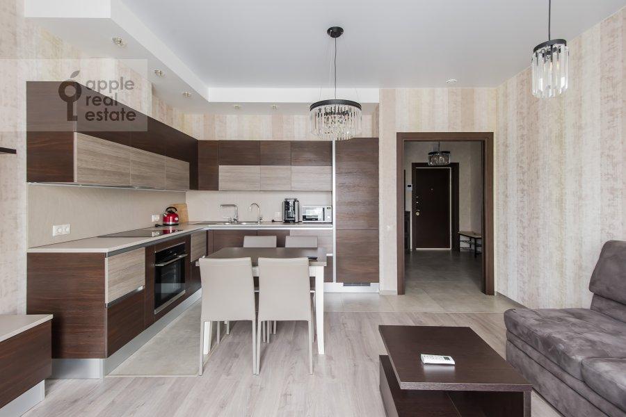 Living room of the 2-room apartment at Bol'shaya Sadovaya ul. 5k1