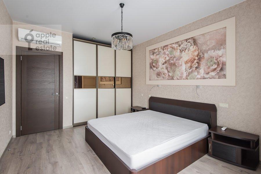 Bedroom of the 2-room apartment at Bol'shaya Sadovaya ul. 5k1