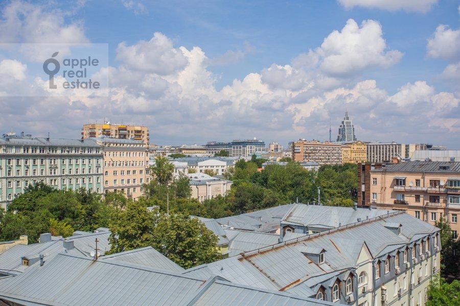 Вид из окна в 3-комнатной квартире по адресу Тверской бульвар 16с5