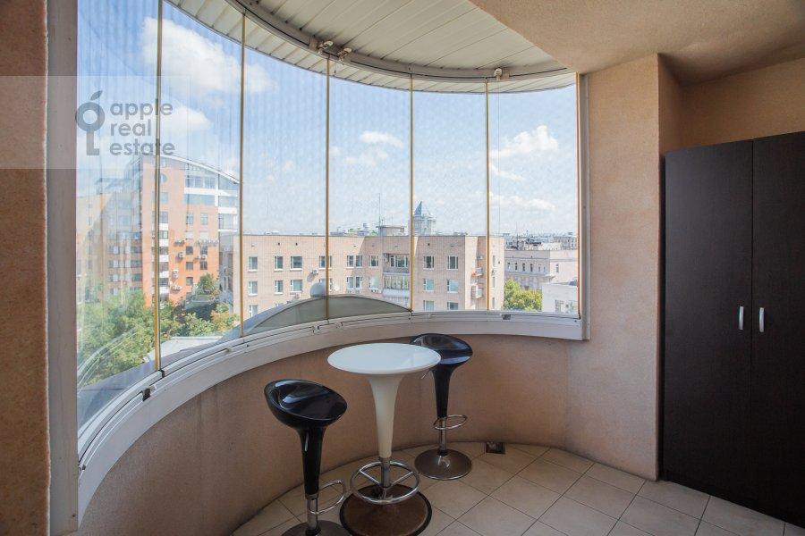 Балкон / Терраса / Лоджия в 3-комнатной квартире по адресу Тверской бульвар 16с5